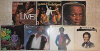 Lou Rawls, 7 Vinyl Record Lot, 6 LP & 1 DLP All US 1st Press R&B Soul Jazz Blues