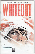 FCBD 2007 - Whiteout #1 (b&w) - Oni Press - BRAND NEW