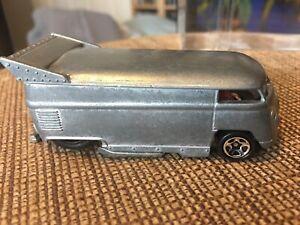 Hot Wheels Unspun Unpainted VW Bus Raw Zamac Prototype