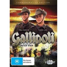 GALLIPOLI-Mel Gibson-Region 4-New AND Sealed
