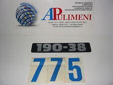 "190/113 LOGO-SIGLA-STEMMA-FREGIO(BADGE)""190.38"" FIAT 190F26-190F35 TURBO-OM190"