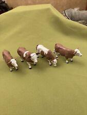 More details for britains farm animal cattle x 4 1/32 vintage models
