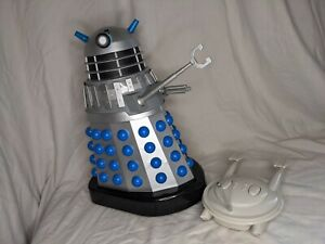 Product Enterprise 12 Inch RC Dalek Invasion Earth Silver And Blue