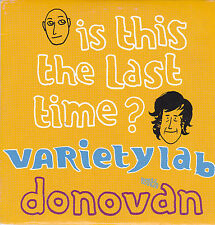 Varietylab With Donovan-Is This The Last Time Promo cd single