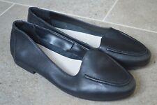 Gorgeous Heavenly Soles Black Flats Ballerinas Slip On. Size 4. NEW!