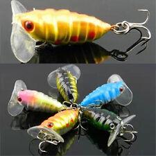 New Lot 1pcs Fishing Lures Bass Crank Bait Tackle Fish Hooks 4cm