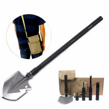 13 in1 Military  Folding Camping Shovel Utility Outdoor Survival Gear Tools US