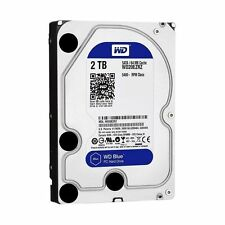 "WD Blue 2TB  Hard Drive SATA3 64MB 3.5"" 5400RPM 6Gb/s 64MB Cache HDD"
