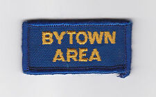 SCOUT OF CANADA - CANADIAN SCOUTS ONTARIO (ONT) BYTOWN AREA DISTRICT 1860 Patch