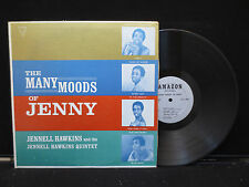 Jennell Hawkins - Many Moods Of Jenny on Amazon Records LPAM1001