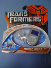 Transformers Real Gear Robots Night Beat 7 NEW FREE SHIP US