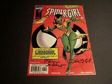 SIGNED TOM DEFALCO PAT OLLIFFE SPIDER-GIRL #6 AMAZING MAN DAUGHTER MARVEL M2