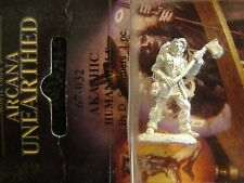 Arcana unearthed  Human Male akashic ranger w/ battle axe