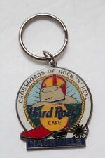 Hard Rock Cafe Nashville Cowboy Boot Hat Keychain Key Chain