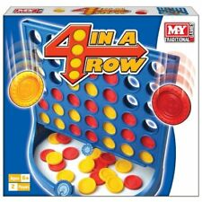 M.Y Traditional Board Games 4 In A Row Classic Family Children Kids Fun Toy New