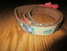 Women's Ed hardy Leather belt size small*