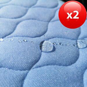 2 Stk Inkontinenzunterlage Matratzenauflage 75x90 cm saugstark 100% wasserdicht