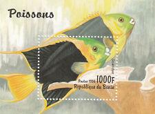 282682 / Fauna Block ** MNH  Benin Fisch