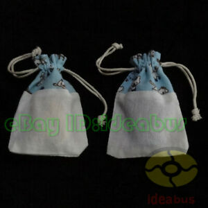 "12/25/50/100pcs Cotton Linen blends Print Cat kitty Drawstring Bags Pouch5.5""x4"""