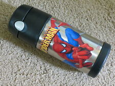 SUPER Thermos Funtainer 12-oz school lunch box packed drink container Spiderman