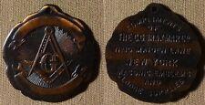 Medal : Masonic The C.G. Braxmar Co New York 32 mm,CU  AU-UNC IR2523