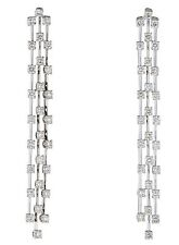 Gorgeous 14K TRIPLE Drop DIAMOND Earrings