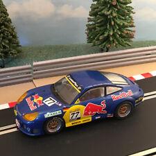 Scalextric Sport 1:32 Car - Porsche 911 GT3R #77 Red Bull *LIGHTS* #B