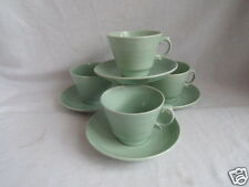 Vintage Woods Ware Beryl 4 x Tea Cups and Saucers