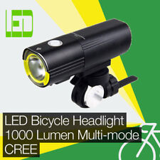 High Power 1000LM LED Bicycle/Bike Headlight/Front Light CREE