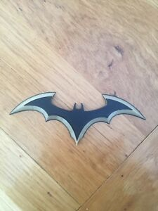 Batarang Cosplay Prop Black And Gold 3D Printed