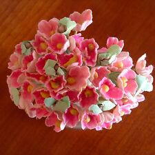 Vtg Millinery Flowers Forget Me Not Pink for Doll Hat Madame Alexander Ginny P3