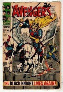 Avengers 48 - First full app of Dane Whitman as Black Knight (Eternals film) vg