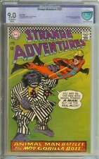 STRANGE ADVENTURES #201 CBCS 9.0 OW/WH PAGES