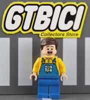 LEGO SUPER HEROES DC MINIFIGURA  `` TRUCK DRIVER ´´  Ref 76026  100X100 ORIGINAL