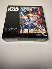 Buffalo Games Disney 1000 piece jigsaw puzzle, Star Wars-NEW