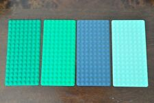 1x Lego base plate Building Board Mat 8 x 16 Studs Grey or Green Thin platform