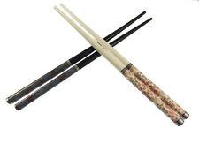 Hair Sticks Long Hair Chopsticks Bun Holder Wooden Hair Stick  Rose Print -384