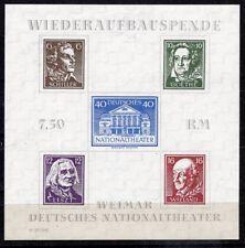 SBZ Thüringen Block 3A X (*), 16 % Michel