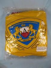 Amstel Beer Horse Insignia Logo Inflatable Pool Float Crest Chair Never Used (O)
