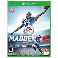 Madden NFL 16 Xbox One Football Game