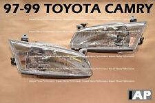 BRAND NEW R/L Pair of Headlight Headlamp Assembly For ALL 1997-1999 Toyota Camry