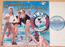 """HENRY & ORIGINAL FISCHER-RÖHRE - Seemann, deine Heimat  (1989 / 12""""-MAXI / m-)"""