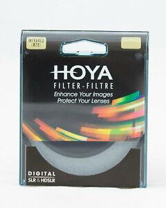 HOYA Infrarot Filter IR (R72) 46 49 52 55 58 62 67 72 77 82 86 95mm Infrared
