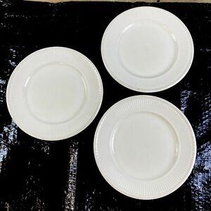 3 Wedgwood Windsor Cream (Edme Shape) 10.5 in/26.5 cm Main Course/Dinner Plates
