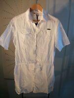 Protest women's summer tunic long shirt drawstring waist tab sleeves UK 10/12/14