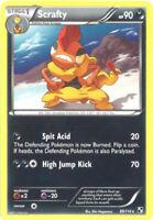Pokemon Card - Black & White 69/114 - SCRAFTY (rare) - NM/Mint