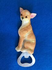 New listing Chihuahua Resin/Metal Magnetic Bottle Opener ~New~