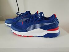 BN Puma Mens RS-0 X Sega Sonic - Surf The Web Chinese Red Sneakers US 9.5