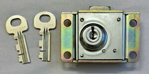Vintage 29B Payphone Lock & 2 Keys For Bell System Pay Telephones - NOS