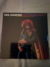 Neil Diamond - Hot August Night RE LP - MCA2-10013 - SEALED
